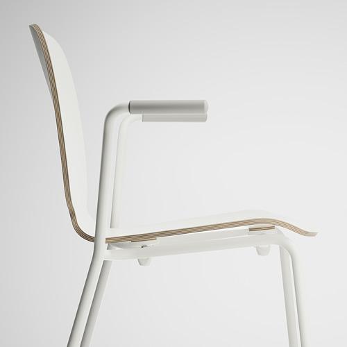 SVENBERTIL - 餐椅, 白色/Dietmar 白色 | IKEA 香港及澳門 - PE674090_S4