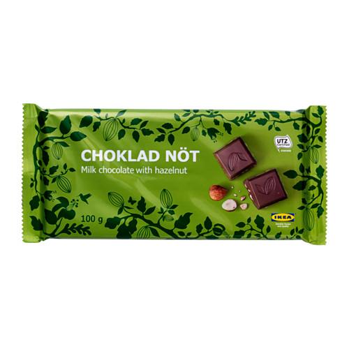 CHOKLAD NÖT - milk chocolate bar w hazelnuts, UTZ certified | IKEA Hong Kong and Macau - PE553468_S4