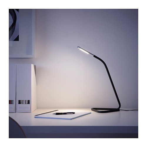 HÅRTE - LED work lamp, black/silver-colour | IKEA Hong Kong and Macau - PE614088_S4