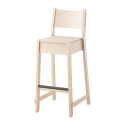 NORRÅKER - 高腳凳連靠背, 樺木 | IKEA 香港及澳門 - PE716729_S3