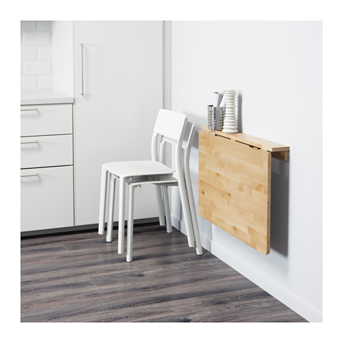 NORBO wall-mounted drop-leaf table