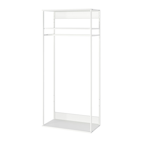 PLATSA - open clothes hanging unit, white | IKEA Hong Kong and Macau - PE756013_S4