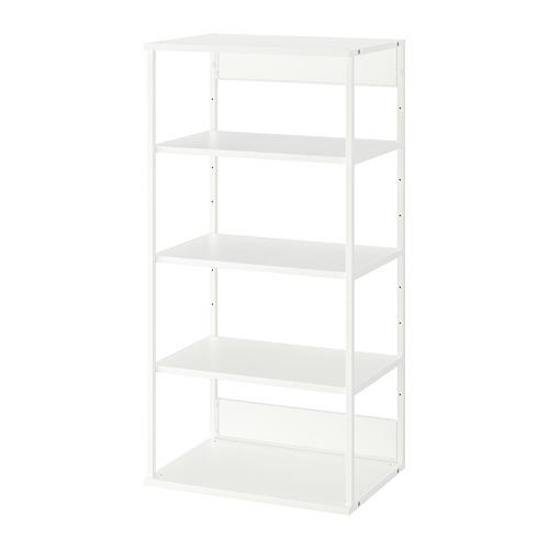 PLATSA - 開放式層架組合, 白色 | IKEA 香港及澳門 - PE756015_S4