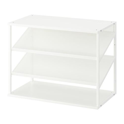 PLATSA - open shoe storage unit, white | IKEA Hong Kong and Macau - PE756029_S4