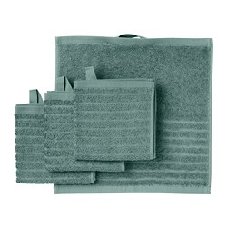 VÅGSJÖN - washcloth, grey-turquoise   IKEA Hong Kong and Macau - PE811695_S3