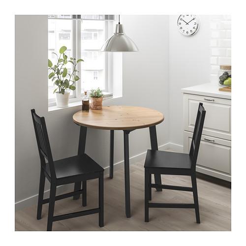 STEFAN/GAMLARED - 一檯兩椅, 淺仿古染色/黑褐色 | IKEA 香港及澳門 - PE716776_S4