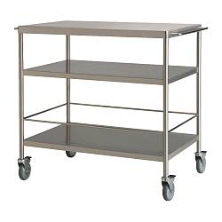 FLYTTA - kitchen trolley, stainless steel | IKEA Hong Kong and Macau - PE124756_S3
