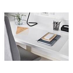 SKVALLRA - 書檯墊, 58x38 cm, 白色/透明 | IKEA 香港及澳門 - PE677810_S3