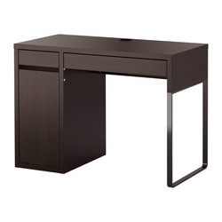 MICKE - desk, width 105 x depth 50cm, black-brown | IKEA Hong Kong and Macau - PE327002_S3