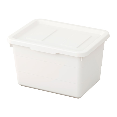 SOCKERBIT - 連蓋箱, 白色   IKEA 香港及澳門 - PE614282_S4