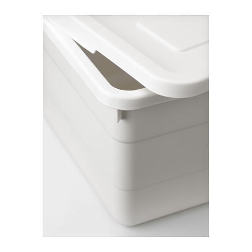 SOCKERBIT - 連蓋箱, 白色   IKEA 香港及澳門 - PE614284_S4