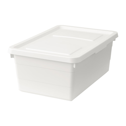 SOCKERBIT - box with lid, white | IKEA Hong Kong and Macau - PE614286_S4