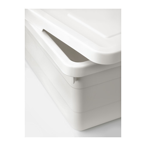 SOCKERBIT - box with lid, white | IKEA Hong Kong and Macau - PE614289_S4