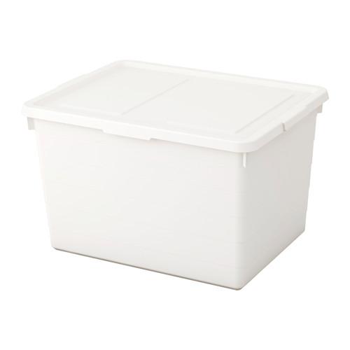 SOCKERBIT - 連蓋箱, 白色 | IKEA 香港及澳門 - PE614298_S4