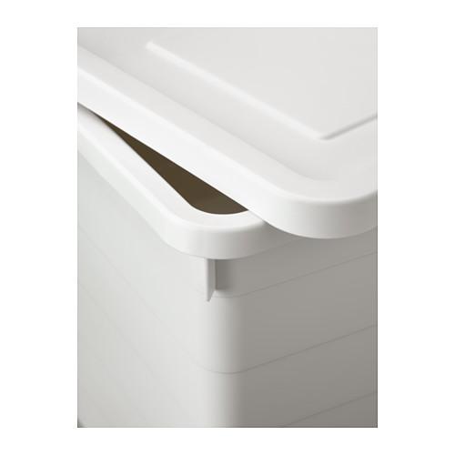SOCKERBIT - 連蓋箱, 白色 | IKEA 香港及澳門 - PE614303_S4
