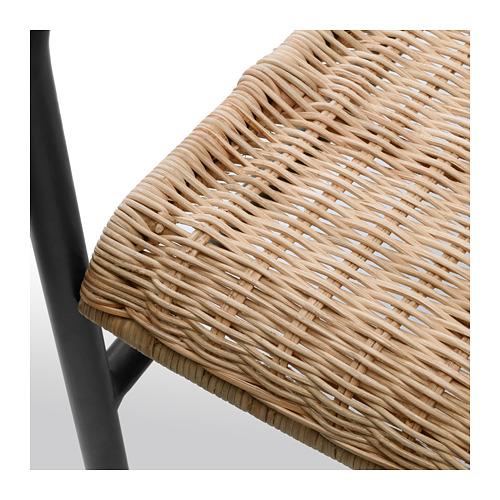 ULRIKSBERG - armchair, rattan/anthracite | IKEA Hong Kong and Macau - PE716933_S4