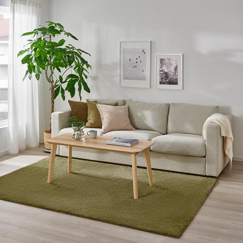 STOENSE - rug, low pile, light olive-green   IKEA Hong Kong and Macau - PE811782_S4