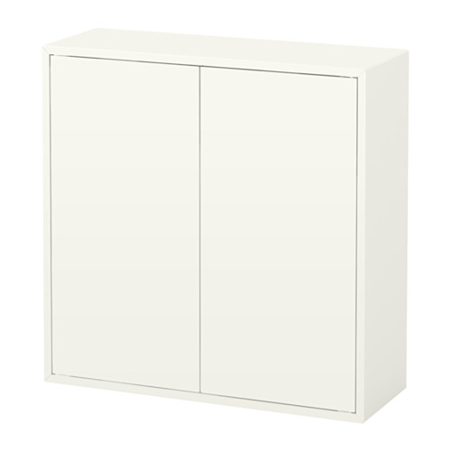 EKET cabinet w 2 doors and 2 shelves