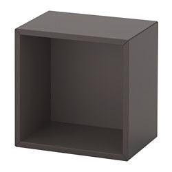 EKET - wall-mounted shelving unit, dark grey | IKEA Hong Kong and Macau - PE614318_S3