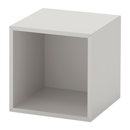 EKET - wall-mounted shelving unit, light grey | IKEA Hong Kong and Macau - PE614327_S4