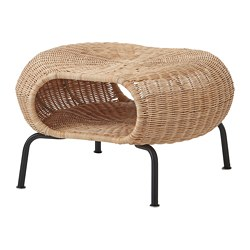 GAMLEHULT - footstool with storage, rattan/anthracite | IKEA Hong Kong and Macau - PE716940_S3
