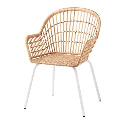 NILSOVE - 扶手椅, 藤/白色 | IKEA 香港及澳門 - PE716967_S3