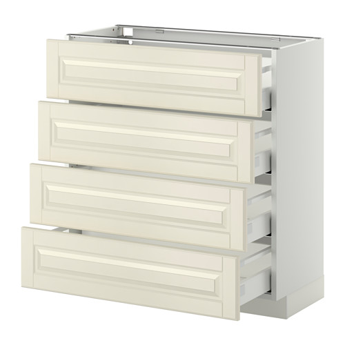 METOD base cab 4 frnts/4 drawers