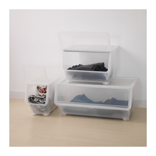 FIRRA - box with lid, transparent | IKEA Hong Kong and Macau - PE614385_S4