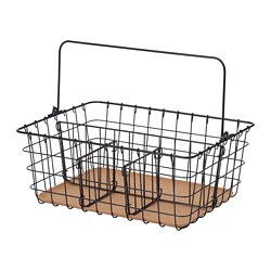 PLEJA - wire basket with handle, black | IKEA Hong Kong and Macau - PE667670_S3