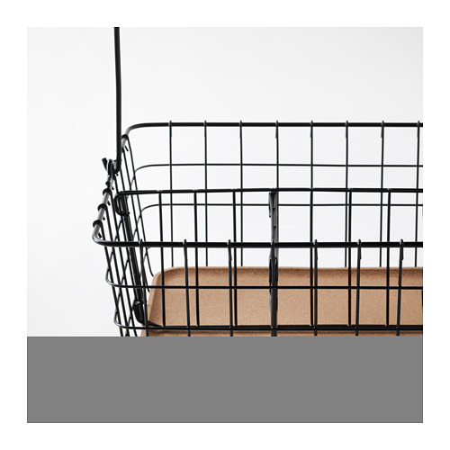 PLEJA - wire basket with handle, black | IKEA Hong Kong and Macau - PE667671_S4