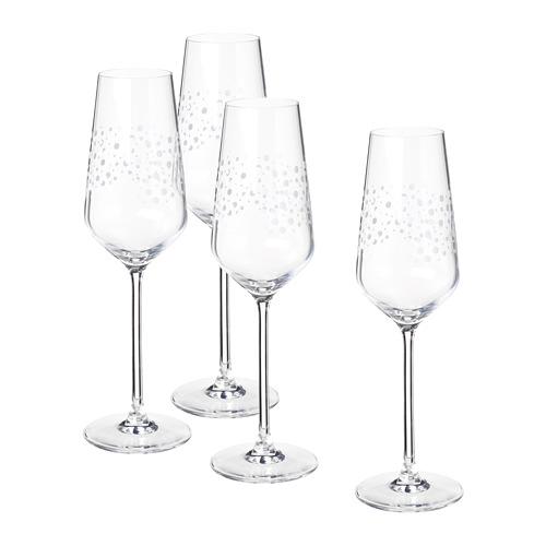 INBJUDEN - champagne glass, clear glass   IKEA Hong Kong and Macau - PE811923_S4