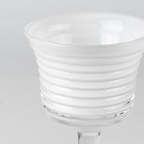 INBJUDEN - 燭燈台,3件套裝, 透明玻璃/玻璃 白色 | IKEA 香港及澳門 - PE811924_S4