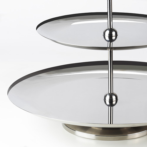 INBJUDEN - serving stand, two tiers, stainless steel   IKEA Hong Kong and Macau - PE811946_S4