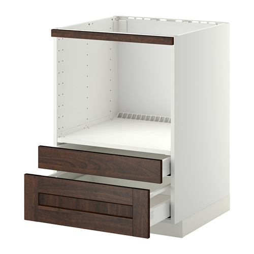 METOD base cabinet f combi micro/drawers
