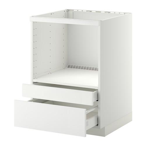 METOD/MAXIMERA base cabinet f combi micro/drawers