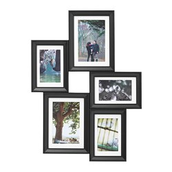 KNOPPÄNG - collage frame for 5 photos, black | IKEA Hong Kong and Macau - PE668205_S3