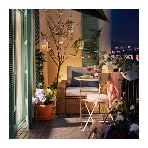 SALTHOLMEN - chair, outdoor, foldable beige | IKEA Hong Kong and Macau - PE717154_S4