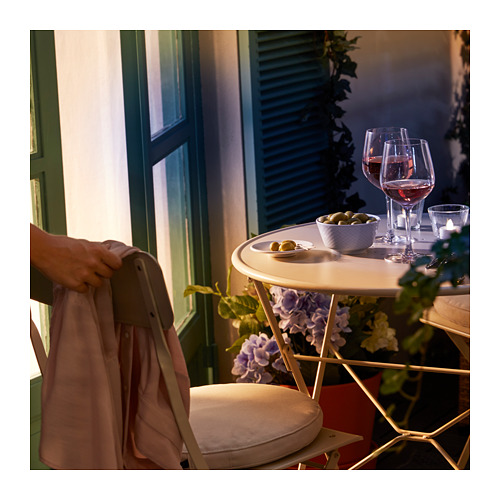 SALTHOLMEN - chair, outdoor, foldable beige | IKEA Hong Kong and Macau - PE717158_S4