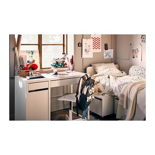 MICKE - 書檯, 105x50x75 cm, 白色 | IKEA 香港及澳門 - PH161164_S4