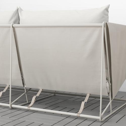 HAVSTEN - 3-seat sofa, in/outdoor, beige   IKEA Hong Kong and Macau - PE756252_S4