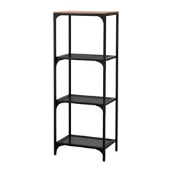 FJÄLLBO - shelving unit, black | IKEA Hong Kong and Macau - PE614540_S3