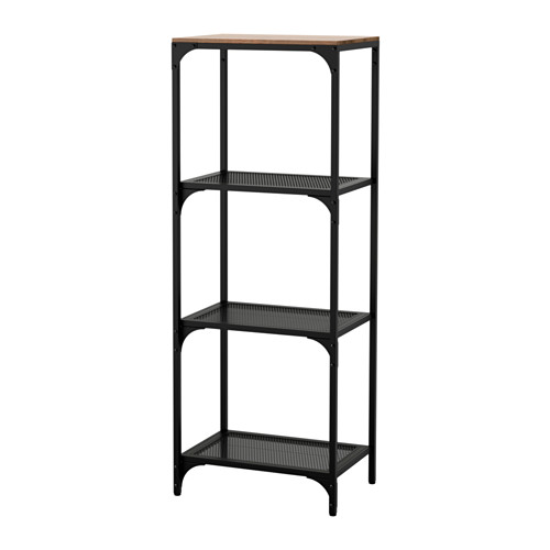 FJÄLLBO - 層架組合, 黑色 | IKEA 香港及澳門 - PE614540_S4