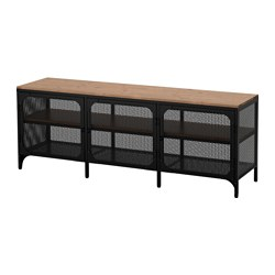 FJÄLLBO - TV bench, black | IKEA Hong Kong and Macau - PE614545_S3