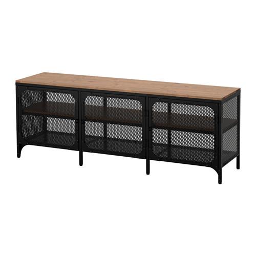 FJÄLLBO - 電視几, 黑色   IKEA 香港及澳門 - PE614545_S4