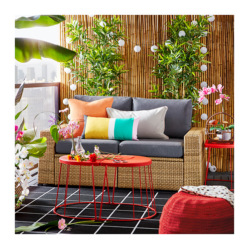 TRANARÖ - stool/side table, in/outdoor, red | IKEA Hong Kong and Macau - PE717164_S4