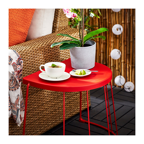 TRANARÖ - stool/side table, in/outdoor, red | IKEA Hong Kong and Macau - PE717167_S4