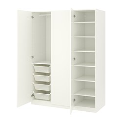 PAX - 衣櫃, 白色/Forsand 白色 | IKEA 香港及澳門 - PE667763_S3