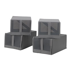 SKUBB - 鞋盒, 深灰色 | IKEA 香港及澳門 - PE667779_S3