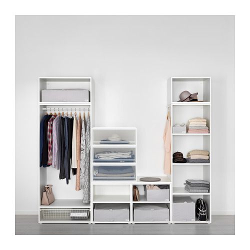 SOPPROT - pull-out storage unit, transparent white | IKEA Hong Kong and Macau - PE667798_S4