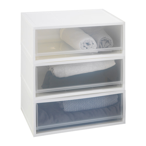 SOPPROT - pull-out storage unit, transparent white | IKEA Hong Kong and Macau - PE667797_S4